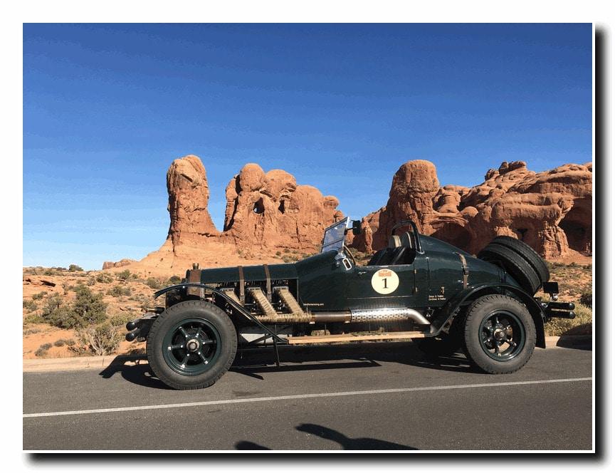 Steve Trafton's ALF driving Utah.