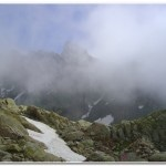 On the trail to Lac Blanc