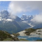 Lac Blanc with the Aiguille Verte in the background