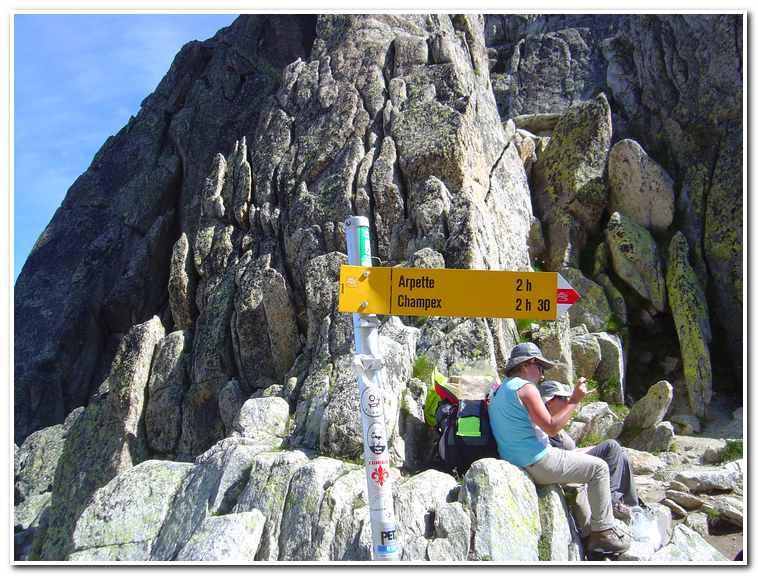 The walkers high route chamonix to zermatt for Fenetre bonneville