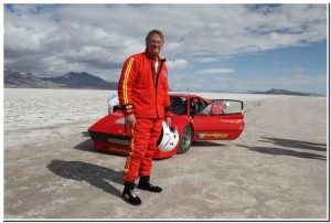 After Setting Ferrari Land Speed Record
