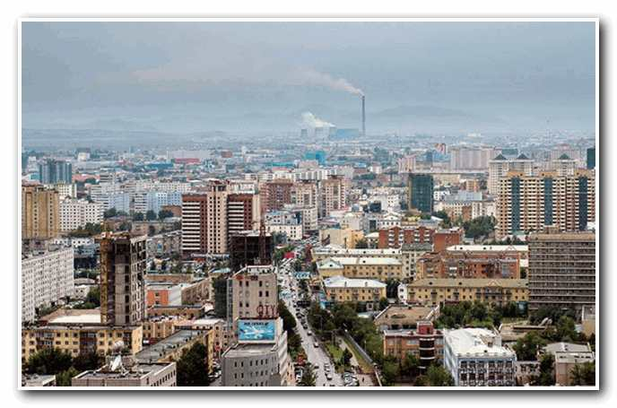 From Ulaanbaatar