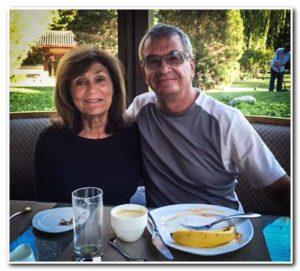 Steve with wife Katherine