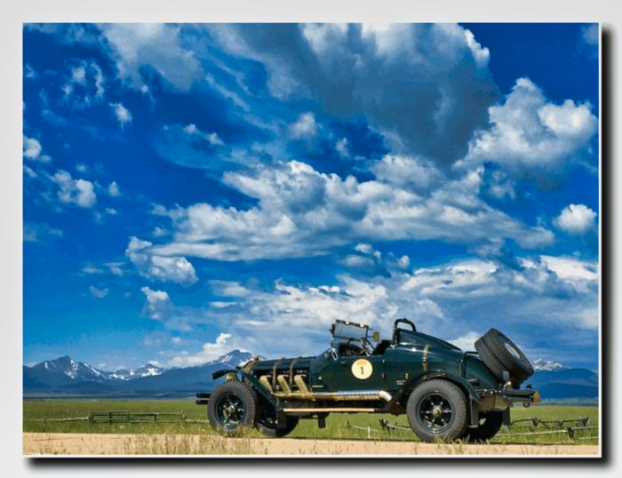 The Big Sky and the American LaFrance vehicle.
