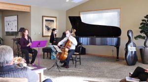 Three Musicians Playing